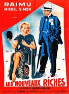 Les nouveaux riches - French Movie Poster (xs thumbnail)