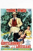 The Mississippi Gambler - Belgian Movie Poster (xs thumbnail)