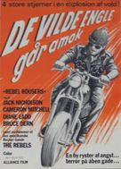 The Rebel Rousers - Danish Movie Poster (xs thumbnail)