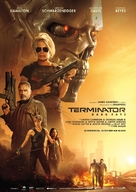 Terminator: Dark Fate - German Movie Poster (xs thumbnail)