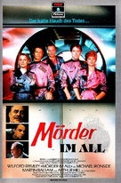 Murder in Space - German VHS cover (xs thumbnail)