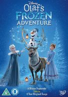 Olaf's Frozen Adventure - British DVD movie cover (xs thumbnail)