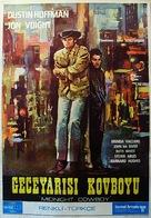 Midnight Cowboy - Turkish Movie Poster (xs thumbnail)