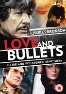 Love and Bullets - British DVD cover (xs thumbnail)