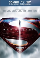 Man of Steel - French Blu-Ray cover (xs thumbnail)