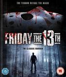 Friday the 13th - British Blu-Ray movie cover (xs thumbnail)