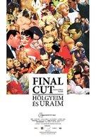 Final cut - Hölgyeim és uraim - Hungarian Movie Poster (xs thumbnail)