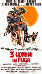 La grande vadrouille - Italian Movie Poster (xs thumbnail)