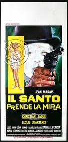 Le Saint prend l'affût - Italian Movie Poster (xs thumbnail)
