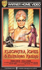 Cleopatra Jones and the Casino of Gold - Finnish VHS movie cover (xs thumbnail)