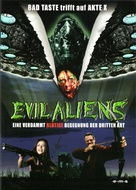 Evil Aliens - German DVD movie cover (xs thumbnail)
