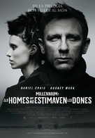The Girl with the Dragon Tattoo - Andorran Movie Poster (xs thumbnail)