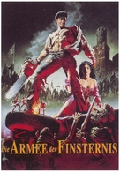 Army Of Darkness - German Movie Cover (xs thumbnail)