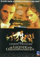 La leggenda del pianista sull'oceano - German Movie Poster (xs thumbnail)