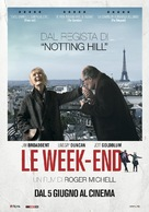 Le Week-End - Italian Movie Poster (xs thumbnail)