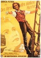 The Sea Hawk - German Movie Poster (xs thumbnail)