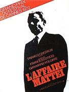 Caso Mattei, Il - French Movie Poster (xs thumbnail)