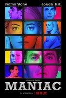 """Maniac"" - Polish Movie Poster (xs thumbnail)"