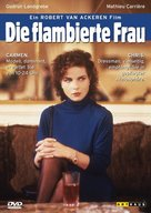 Flambierte Frau, Die - German Movie Cover (xs thumbnail)