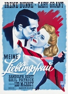 My Favorite Wife - German Movie Poster (xs thumbnail)