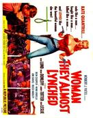 Woman They Almost Lynched - Movie Poster (xs thumbnail)