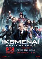 X-Men: Apocalypse - Lithuanian Movie Poster (xs thumbnail)