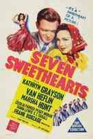 Seven Sweethearts - Australian Movie Poster (xs thumbnail)