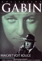 Maigret voit rouge - French DVD cover (xs thumbnail)