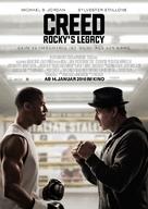 Creed - German Movie Poster (xs thumbnail)