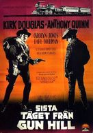 Last Train from Gun Hill - Swedish Movie Poster (xs thumbnail)