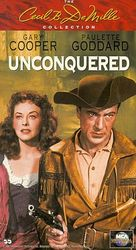 Unconquered - VHS movie cover (xs thumbnail)