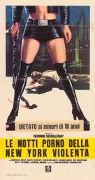 Black Alley Cats - Italian Movie Poster (xs thumbnail)