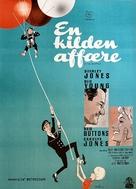 A Ticklish Affair - Danish Movie Poster (xs thumbnail)