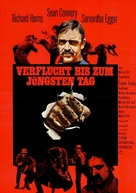 The Molly Maguires - German Movie Poster (xs thumbnail)