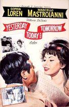 Ieri, oggi, domani - DVD movie cover (xs thumbnail)
