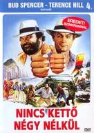 Non c'é due senza quattro - Hungarian DVD cover (xs thumbnail)