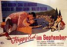 Come September - German Movie Poster (xs thumbnail)