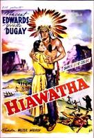 Hiawatha - Belgian Movie Poster (xs thumbnail)