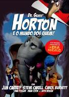 Horton Hears a Who! - Brazilian Movie Cover (xs thumbnail)