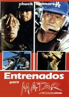 Trained to Kill - Spanish Movie Poster (xs thumbnail)