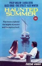 Haunted Summer - British VHS movie cover (xs thumbnail)