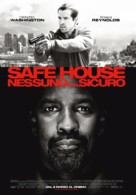 Safe House - Italian Movie Poster (xs thumbnail)