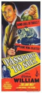 Passport to Suez - Australian Movie Poster (xs thumbnail)