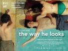 Hoje Eu Quero Voltar Sozinho - British Movie Poster (xs thumbnail)