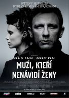 The Girl with the Dragon Tattoo - Czech Movie Poster (xs thumbnail)