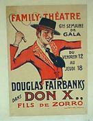 Don Q Son of Zorro - French Movie Poster (xs thumbnail)