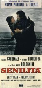 Senilità - Italian Movie Poster (xs thumbnail)