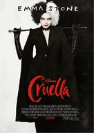 Cruella - Croatian Movie Poster (xs thumbnail)