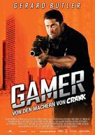 Gamer - German Movie Poster (xs thumbnail)