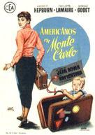 Nous irons à Monte Carlo - Spanish Movie Poster (xs thumbnail)